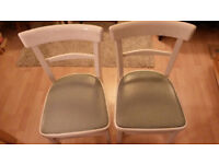 Pair vintage chairs 60's 70's