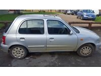 Nissan Micra 2002 Silver. Brakes, Clutch, Gearbox everything perfect. Quick Sale. Good Runner