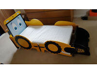 Kidsaw My First JCB Toddler Bed