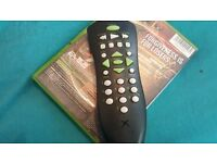 Retro Xbox original games and remote control
