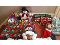 Christmas items advent hanging star light etc