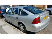 Silver vauxhal vectra