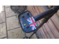 GM +1 UK edition 15 kHz metal detector