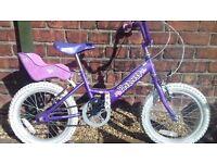 Girls Dawes Princes bike (age 5-7) & free helmet (Giro)