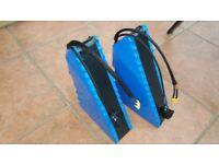 E Bike Softpack Battery Li-Ion 48V 13S6P 17.4Ah Best for 1000w elctric bike kit