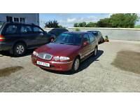 2000 Rover 45 **full years MOT**