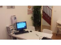 Office Holborn / Chancery Lane / Farringdon / Stand Alone 12sq on suite Toilet, Kitchen, 24/7 Access