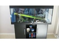 Juwel Rio 180 black marine tropical fish tank aquarium