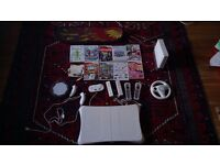 Nintendo Wii bundle Inc Wii Balance Board & Tony Hawk Skateboard