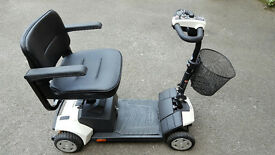 NEW Tiempo Rapide Car Boot Mobility Scooter WITH SUSPENSION