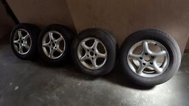 Mr2 mk2 alloys 14 inch