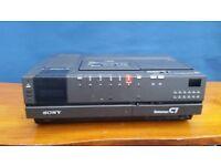 Job lot - Collection of Rare Betamax recorders x 4