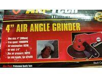 "Am Tech 4"" Air Angle Grinder"