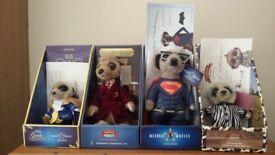 4 Meerkat toys.
