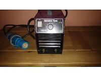 thermal arc 150 se. 240 volt welding set with 2 full sets of welding cables.