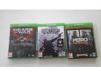 Xbox one games £4 each