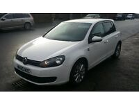 Vw golf 2.0 tdi 140bhp white