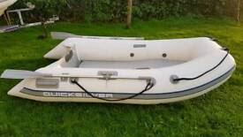 Quicksilver inflatable boat tender