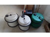 Camping water butts