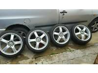 Multifit alloy wheels 18 inch swap.for