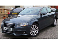 2010 10 AUDI A4 SE 2.0 TDI 6 SPEED MANUAL GREY 79K(PART EX WELCOME)***FINANCE AVAILABLE**