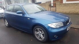 BMW 1 SERIES 1.6L 116i SE HATCHBACK 5 Door Petrol 2005