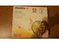 NEVER USED Medela Swing Electric Breast Pump with Calma