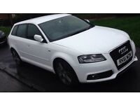 Audi A3 2.0 tdi s line 170 excellent condition looks great and drives great