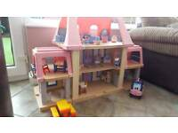 Vintage Little Tikes Grand Mansion and Furniture