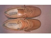 Hotter tan shoes size 10