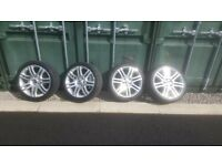 5x112 18inch alloy wheels vw, audi etc