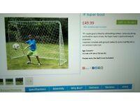 Football goal and net