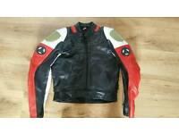 Hein Gerike leather motorbike jacket