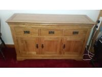 Large Sideboard brought from oak Furniture Land. Vgc