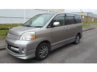 Toyota Voxy 8 Seater Not 7 Automatic MPV Like Previa Estima Alphard Fresh Import - Registered Soon