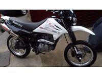 Suzuki DR 125 SM 62 Reg