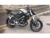 2015 Yamaha mt125 abs