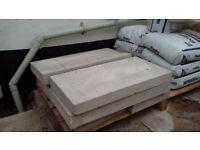 6 concrete coping stones