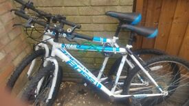 Mens bike. Needs a good clean possible service £5.00 each