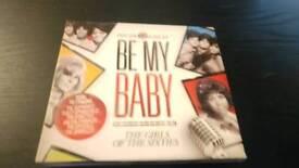 BE MY BABY 60S GIRLS 3 CDS BOX SET NEW....