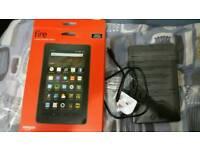 Amazon fire kindle tablet