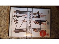 Keeping up with the Kardashians dvds seasons 1,2,3,4,5,6,7