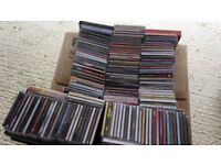 Mixed assortment of at least 208 cd's