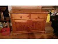 solid pine dresser for sale