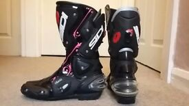almost new SIDI motorcycle boots