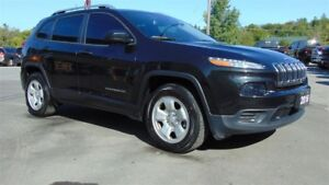 2016 Jeep Cherokee SPORT 4X4 V6 - TOW PACKAGE- CAMERA
