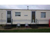 2 bedroom 6 berth caravan to rent