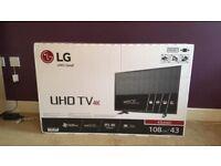 LG UHD 4K TV.