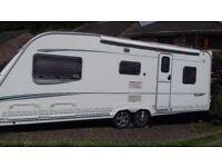 Twin Axle Caravan - Abbey Spectrum 520 (2004)