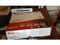 Draytek Vigor2860 VDSL2 Securty Firewall and Router
